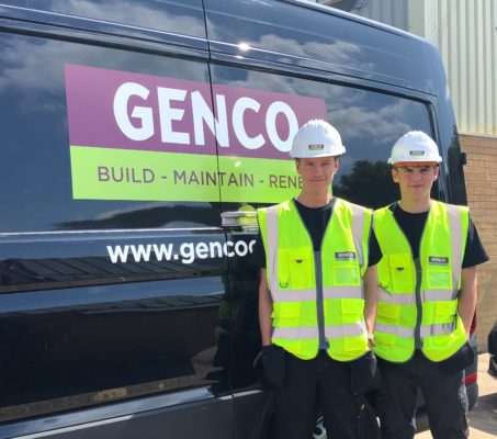 New apprentices at GENCO!