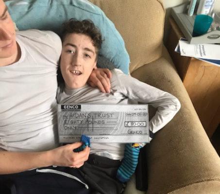 Aidan's Trust Donation