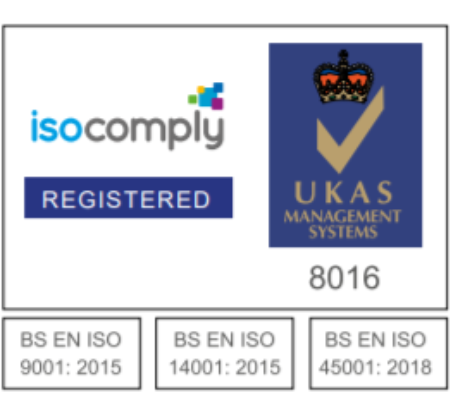 New ISO 9001, 14001,45001 Certificate
